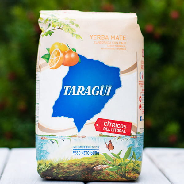 Taragui - Citricos del Litoral cytrusowa | yerba mate | photo