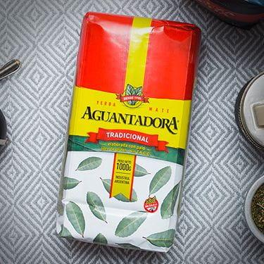 Aguantadora - Tradicional | yerba mate elaborada | 1kg