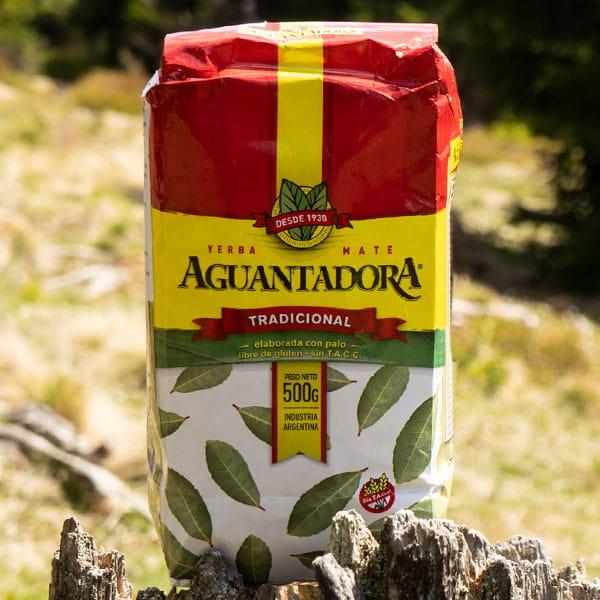 Aguantadora - Tradicional | yerba mate elaborada con palo | 500g
